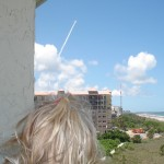 Space Shuttle Launch from Cocoa Beach Towers